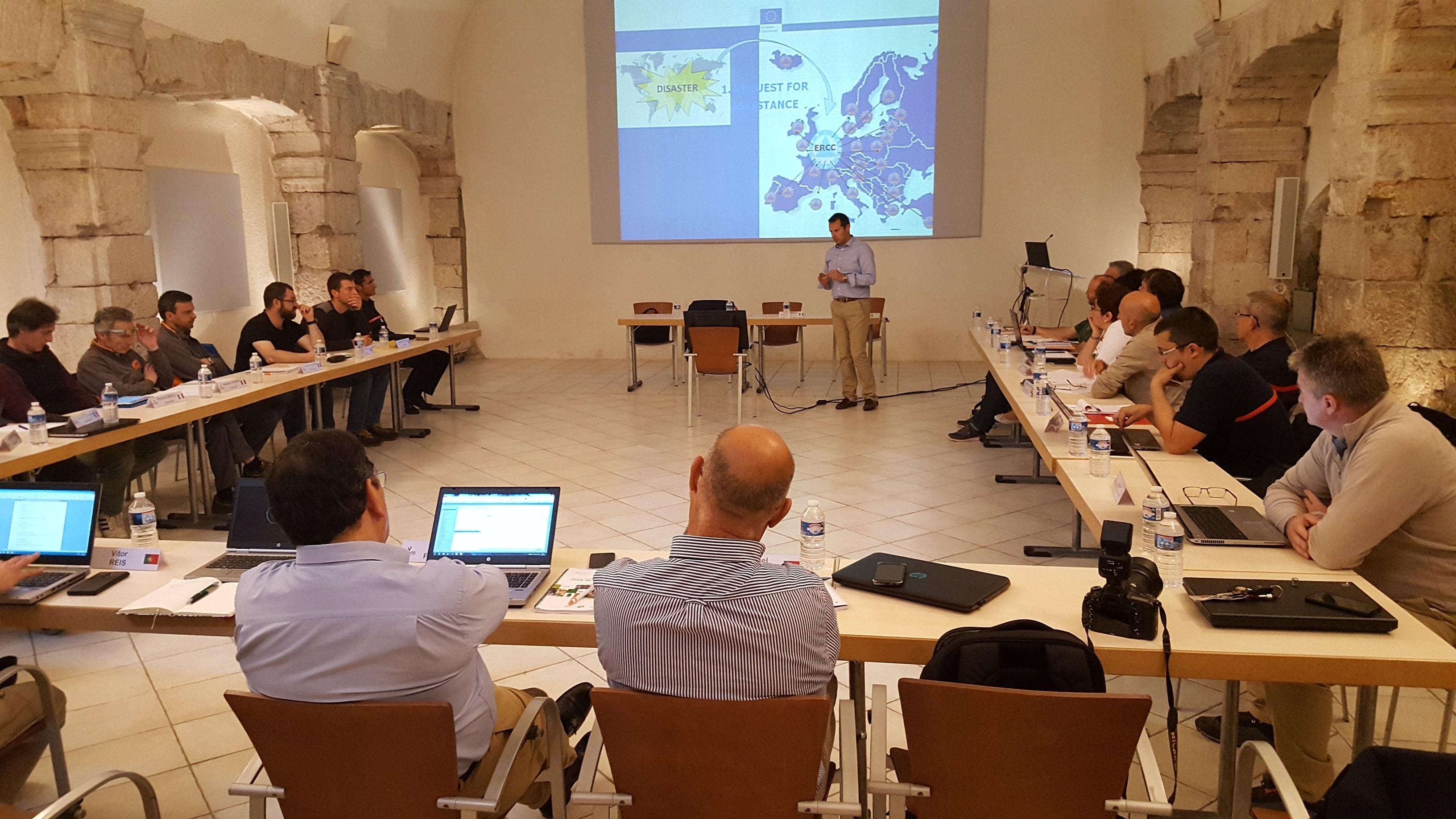 Projet Européen MEFISTO - Semaine de Formation à Valabre