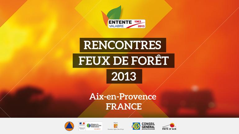 Rencontres Feux de Forêt (RFF 2013)