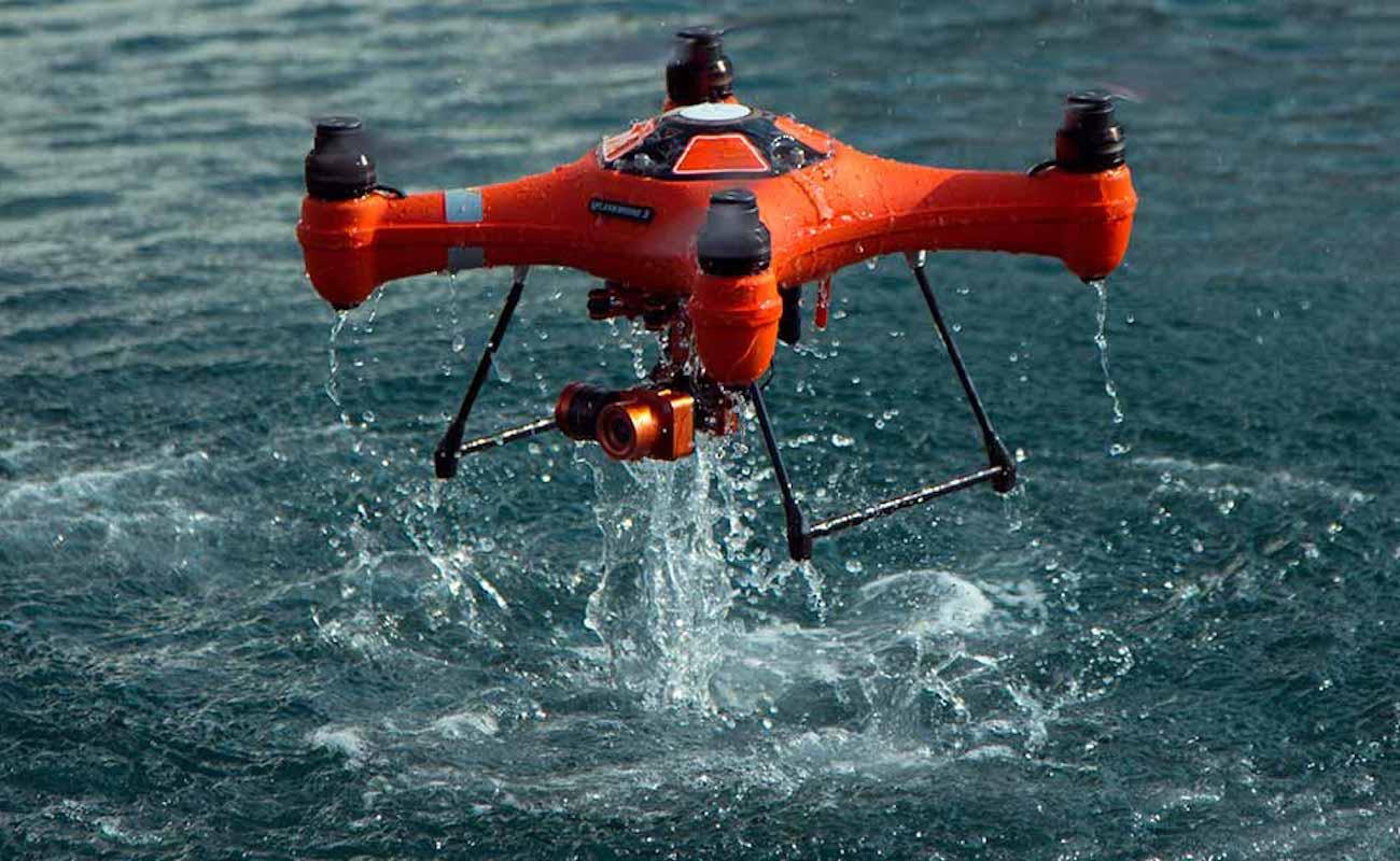 Formation drone de sécurité civile ECASC Valabre