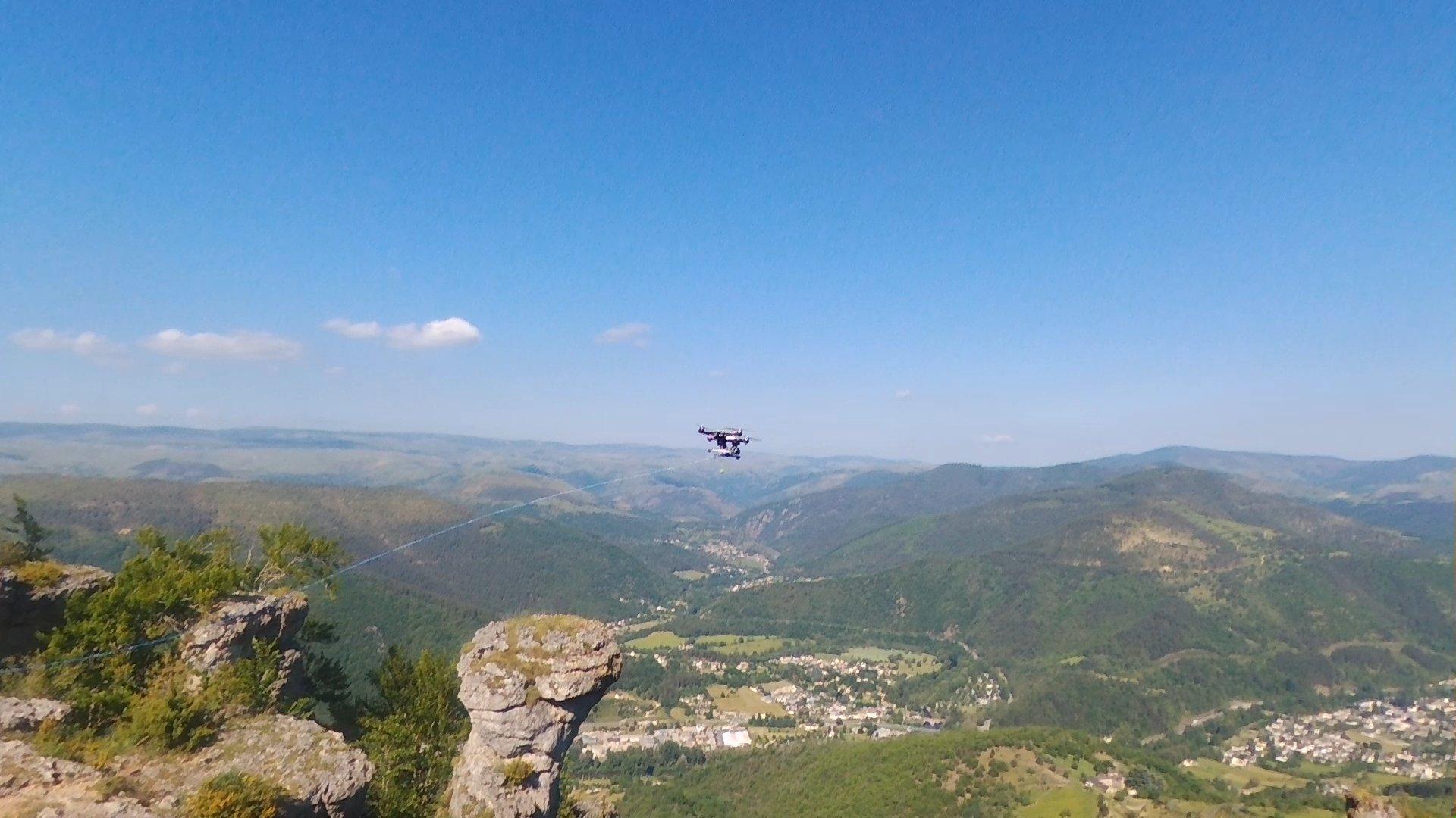 Drone et sauvetage en milieu périlleux GRIMP ECASC
