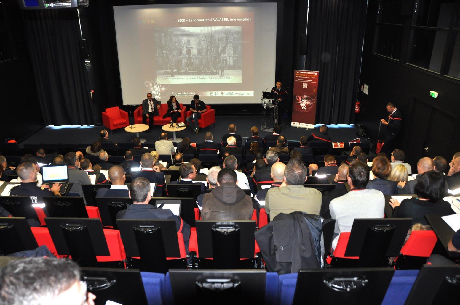 Forum e-learning des Sapeurs-Pompier Valabre 2014