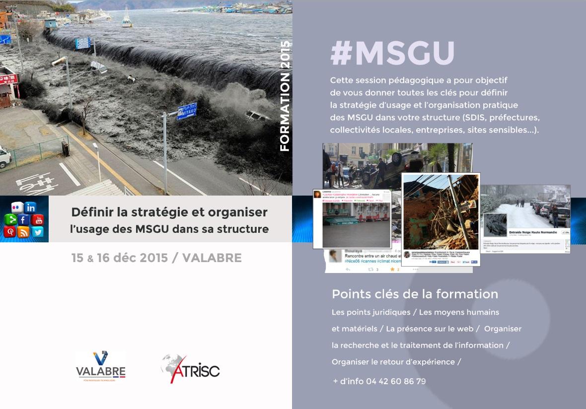 Formation MSGU 15 et 16 Décembre 2015