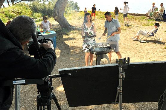 Début du tournage du SPOT TV sur la prévention