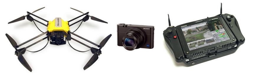 Photo de drone modèle U130 de NOVADEM
