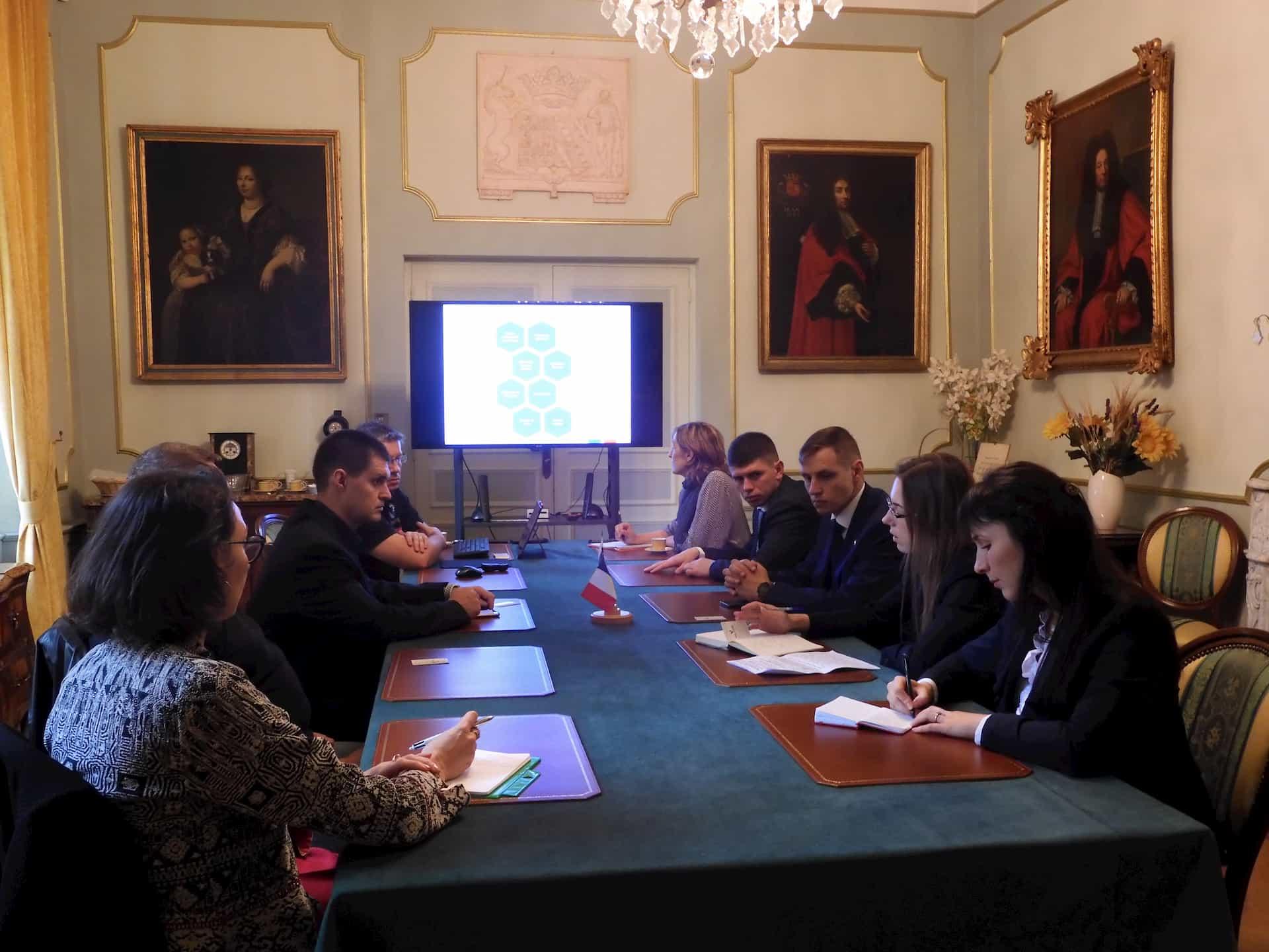 Visite d'une Délégation Russe à Valabre