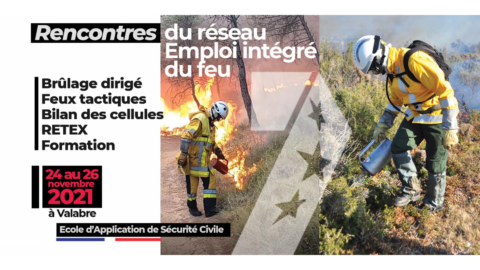 """Rencontres nationales du réseau """"Emploi intégré du feu"""""""